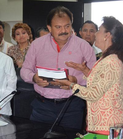 MARIO VILLANUEVA MUEVE SUS FICHAS: Se movilizan simpatizantes de ex Gobernador en Chetumal para limpiar su imagen