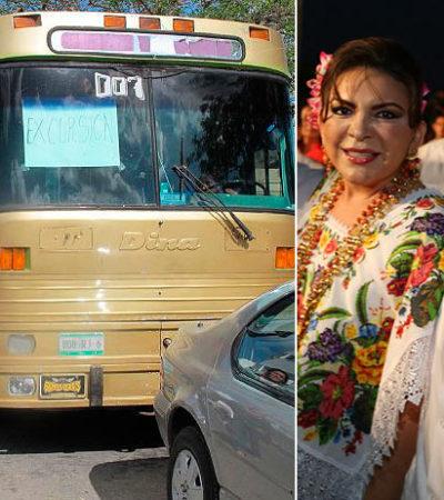 ESTRATEGIA DEL FRAUDE: Busca Ivonne Ortega aportar 25 mil votos de yucatecos para tratar de arrebatar Cancún al PRD