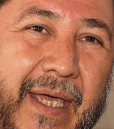 Llega Fernández Noroña a Chetumal; encabezará protesta contra Ley Antimarchas y Ley Telecom
