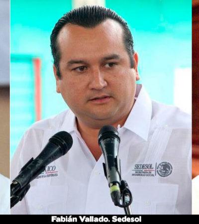 Servirán nuevos delegados federales afines a Borge como operadores políticos y electorales en próximo comicios en QR, acusan PAN y PRD