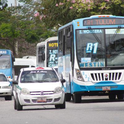 LE DAN PA'TRAS A TRANSPORTISTAS: En víspera de un año electoral, rechaza comuna alza a la tarifa del pasaje en Cancún; apelarán ante tribunales