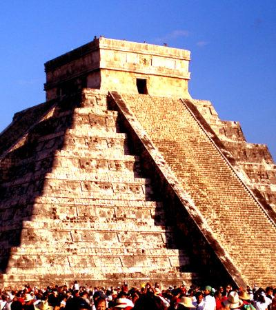 Visitarían Chichén Itzá hasta 15 mil personas para presenciar el descenso de Kukulcán