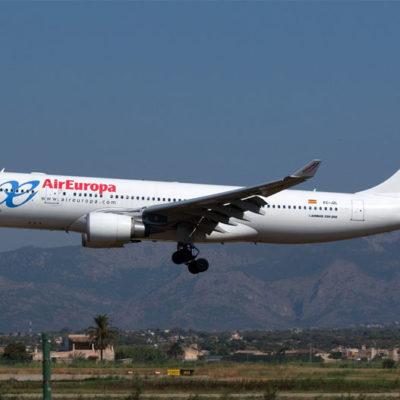 Cancelará Air Europa vuelos a Cancún