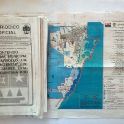 Publican en Periódico Oficial el Programa Municipal de Desarrollo Urbano Sustentable; van por el PDU