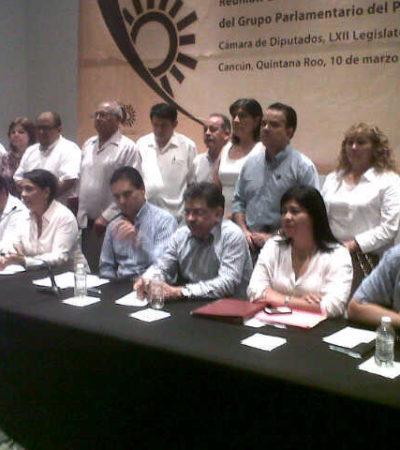 Piden diputados perredistas a Borge aclare su interés por el 'Dragon Mart Cancún'