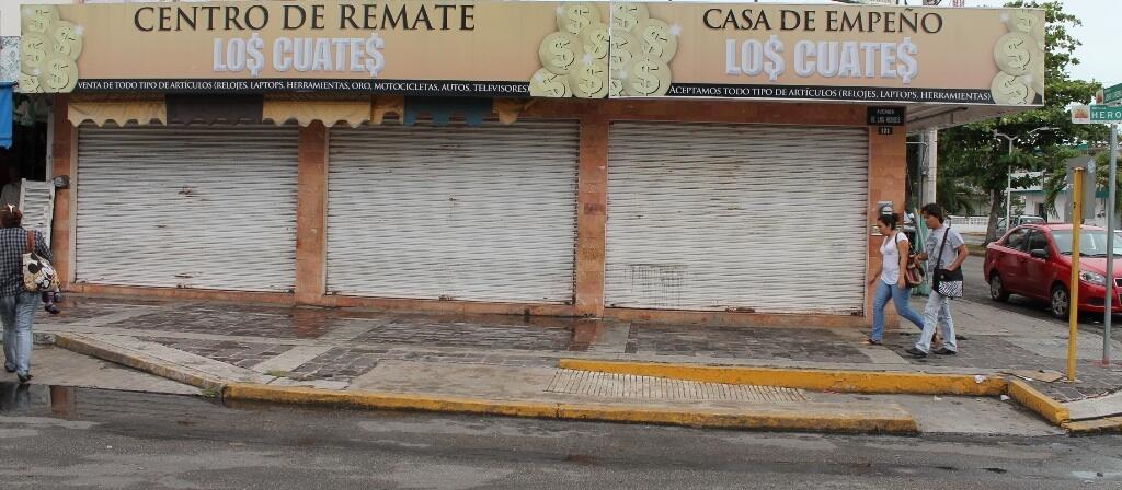 Roban 2 kilos de oro en casa de empeño en Chetumal