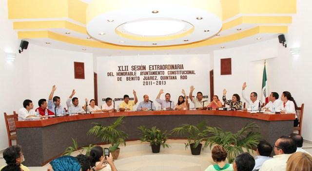 Por mayoría, aprueba Cabildo cuenta pública 2012 de BJ
