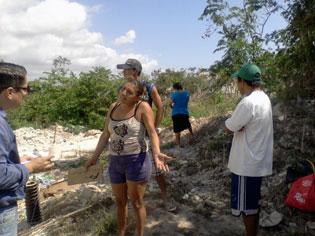 Desalojan a invasores de terrenos de la CFE en Chetumal