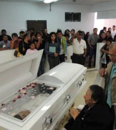 Despiden a MP asesinado en Cancún