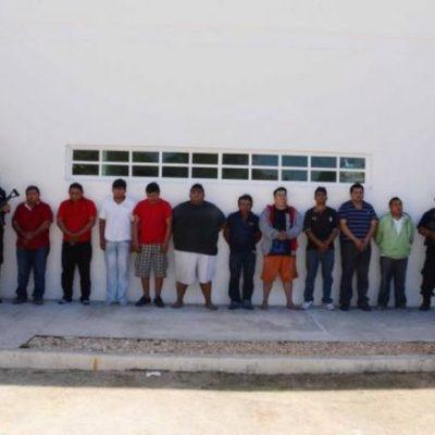 Capturan a 10 'Zetas' en Playa vinculados a extorsiones y al menos a 2 ejecuciones