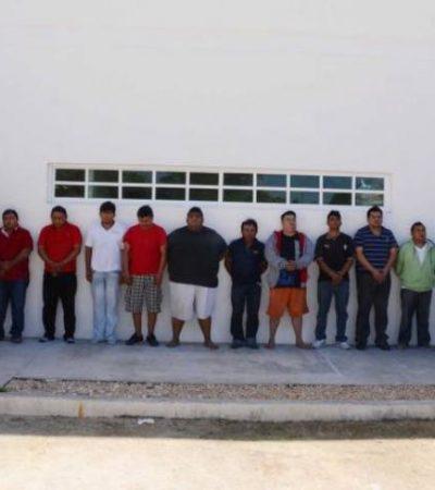 Cumplen órdenes de aprehensión contra 4 de los 10 'Zetas' detenidos en Playa por ejecución de DJ y un travesti