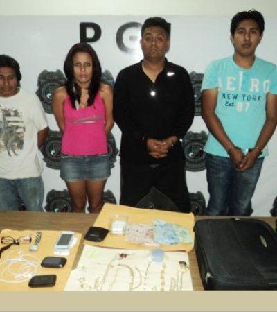 Capturan a banda de asaltantes en Cancún