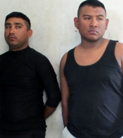 Dan formal prisión a policías violadores de una menor en Cancún