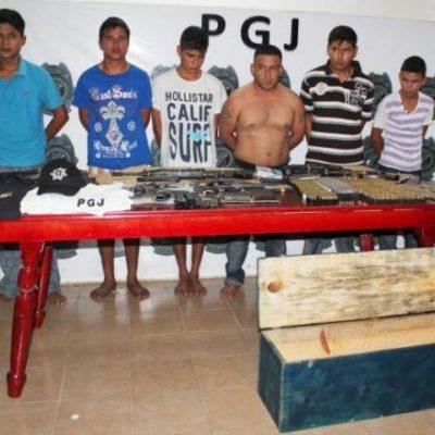 Investigan a presuntos sicarios detenidos en Tulum