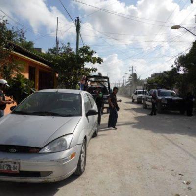 Hallan abandonado auto posiblemente usado en matanza de taxistas en 'La Sirenita'