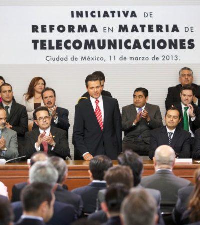 Presentan iniciativa de reforma en telecomunicaciones: licitarán 2 nuevas cadenas de televisión abierta para competir con Televisa y TV Azteca