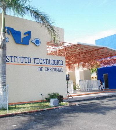 Denuncian presunto intento de extorsión a subdirector del Instituto Tecnológico de Chetumal