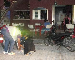 Reportan balazos afuera de un bar en Cozumel