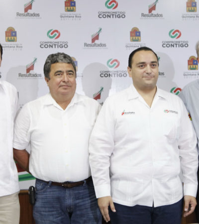 MÁS CAMBIOS EN GABINETE DE BORGE: Sustituye Gabriel Mendicuti en la Secretaría de Gobierno a Luis González Flores, quien pasa a Sedari; Muñoz Berzunza, confirmado en Sema