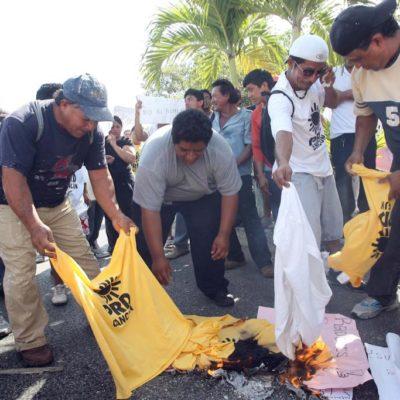 """Acusa Ricalde a Borge de tratar de desestabilizar a Cancún; bloqueo a Zona Hotelera, """"provocación absoluta"""", dice"""