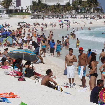 Registra Cancún récord de ocupación y flujo turístico durante Semana Santa