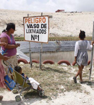 EVITA JULIÁN LE COMAN EL MANDADO: Clausura Alcalde tiradero de Villas Otoch para dar paso a nuevo relleno sanitario