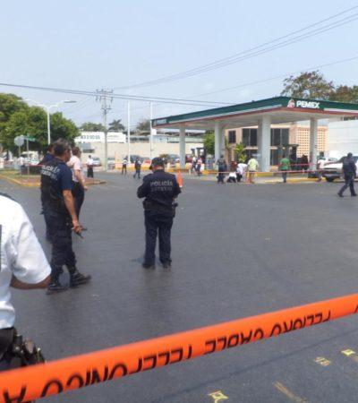 'ALERTA PREVENTIVA' EN CHETUMAL: Imponen restricciones en el centro de la capital por derrame de combustible