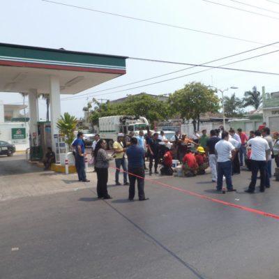 Descartan que derrame de combustible sea por fuga en gasolinera