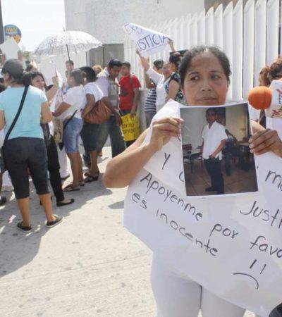 Marchan para demandar libertad de estudiante Christian Vicente Córdova; admite subpocurador que podrían liberarlo