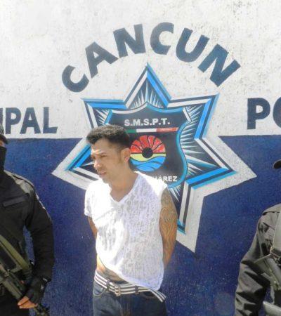 """Captura la Policía de Cancún a sicario de """"Los Zetas"""" en la Región 209; investigan si se pasó al Cártel del Golfo"""