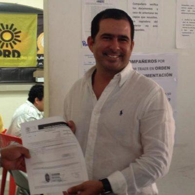 Se registra Jorge Aguilar Osorio para una diputación del PRD