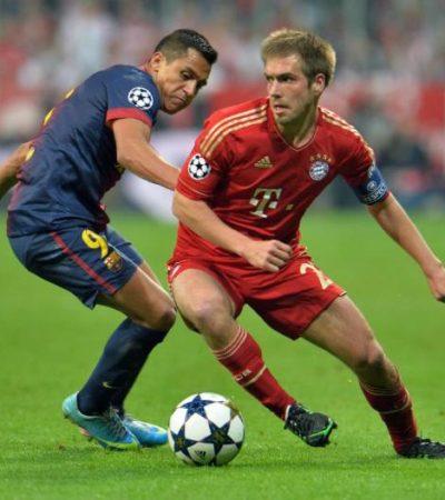 Aplasta el Bayern Munich 4-0 al Barsa con todo y Messi