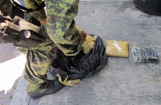 Recalan 3 paquetes con cocaína y marihuana en Playa Bonita en Cozumel