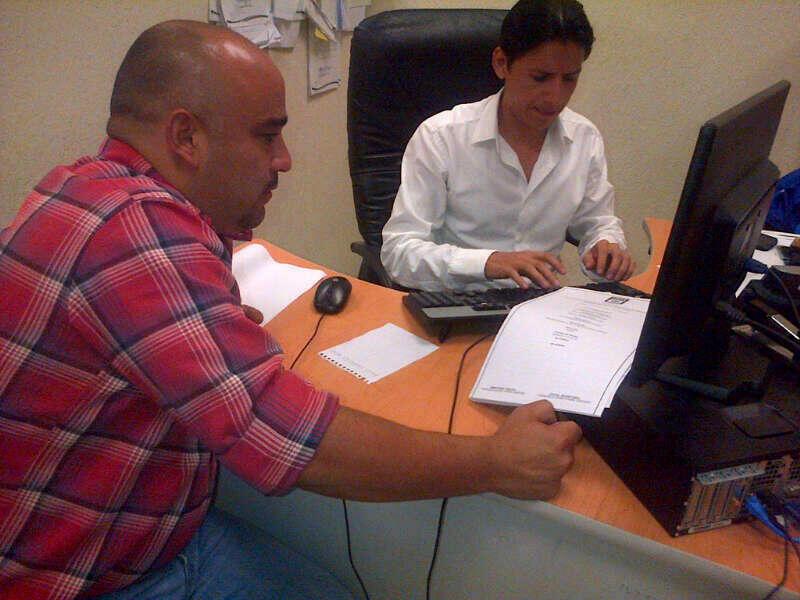 Heriberto Millar presenta denuncia ante el MP.