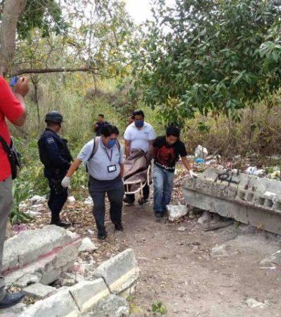 Muere indigente en una caverna en pleno centro de Playa del Carmen