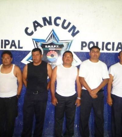 Denuncian formalmente a ex policías detenidos por extorsión