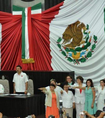 CONGRESO DE SUPLENTES: Toman protesta los nuevos diputados locales tras desbandada de legisladores