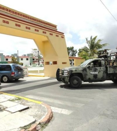 Despiden a militar que falleció durante un entrenamiento en Cozumel