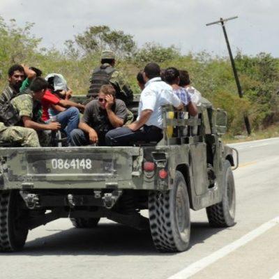 Aseguran a 9 balseros cubanos que llegaron a Cozumel tras 16 días a la deriva