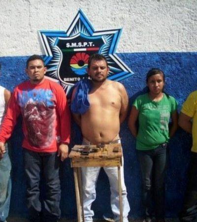 Caen más 'halcones' y 'tiradores' del Cártel del Golfo en Cancún