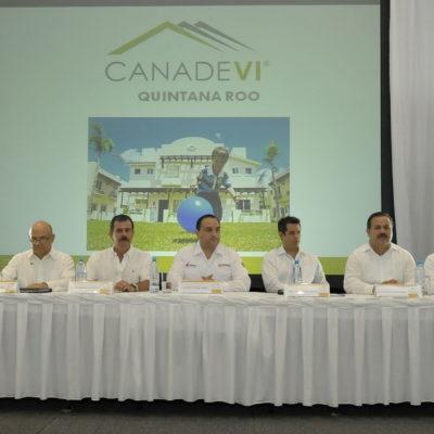 Reúne la Canadevi a Borge y Ricalde y hasta se dan la mano; confirma Gobernador arribo de más policías a Cancún
