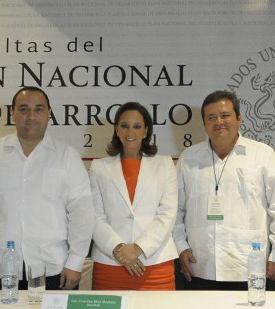 'CARTA' A PEÑA NIETO: Pide Gobierno puentes, muelles, un CIP en la Costa Maya y el aeropuerto de la Riviera Maya