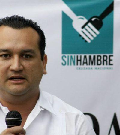 Exigen PAN y PRD desmantelar la estructura de operadores del PRI en la Sedesol; Fabián Vallado, delegado en QR, en la mira