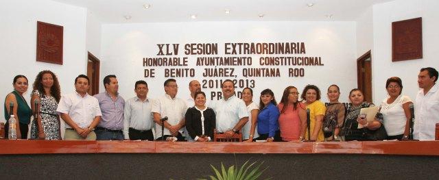 Autorizan licencia a 10 regidores del Cabildo de BJ