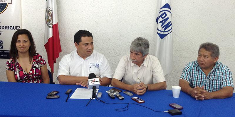 """Confían PAN y PRD en revertir ante el TEPJF anulación de alianza en QR; el PRI se dice el partido """" de la legalidad"""""""