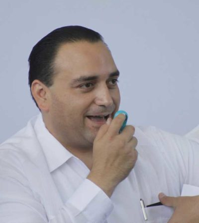 TIENEN A BORGE EN LA MIRA: Anuncia PRD que junto con PAN interpondrán demanda de juicio político contra Gobernador de QR