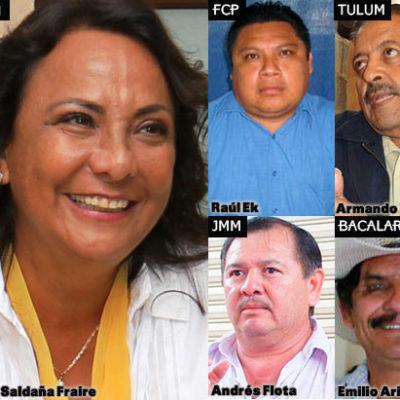 ELIGE PRD CANDIDATOS EN QR: Va Graciela Saldaña por Cancún y Armando Ventre por Tulum; Raúl Ek, a FCP; Andrés Flota, a JMM; y Emilio Ariza por Bacalar