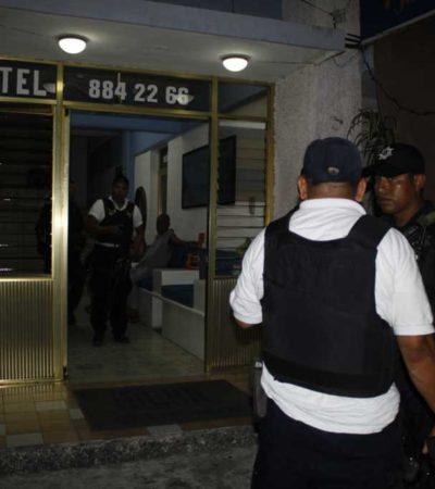 Fuerte movilización por reporte de hombres armados en hotel Uxmal; fue falsa alarma