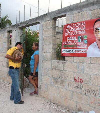 Recorre Jorge Aguilar Osorio las regiones, 219, 223 y 228 en busca de una diputación