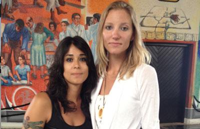 Acude pareja lesbiana al Congreso para pedir aval para casarse en Tulum
